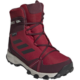 adidas TERREX Snow Climaproof Climawarm High Cut Schoenen Kinderen, active maroon/core black/maroon
